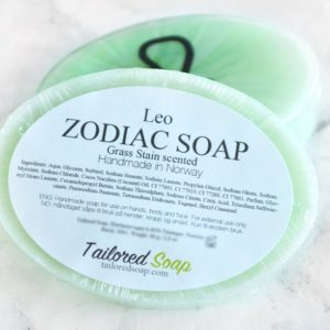 Green Leo Zodiac Soap by Tailored Soap