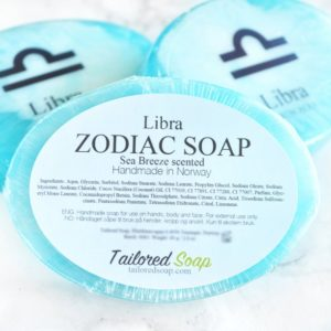 Blue Libra Zodiac Soap by Tailored Soap