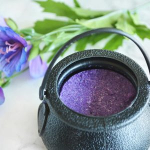 Purple Witches' Brew Bath Bomb