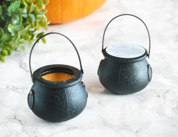 Orange Pumpkin Pie Witches Brew Halloween Bath Bomb by Tailored Soap
