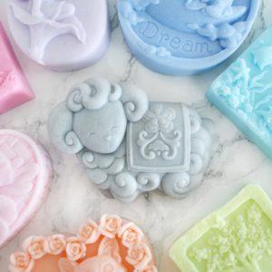 Custom ram sheep soap by Tailored Soap