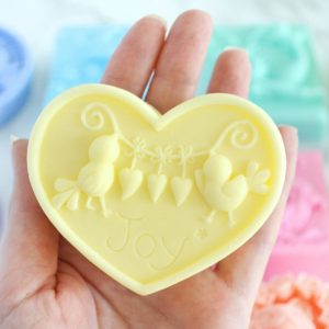 Custom Love Birds Soap in the color and scent of your choice
