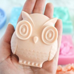 Custom owl soap by Tailored Soap