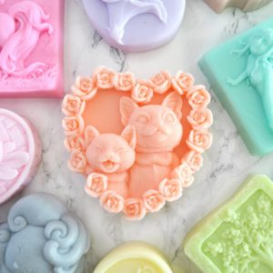 Custom handmade kitten and cat soap by Tailored Soap