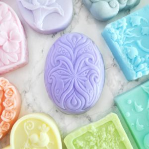 Oval customizable hand soap by Tailored Soap